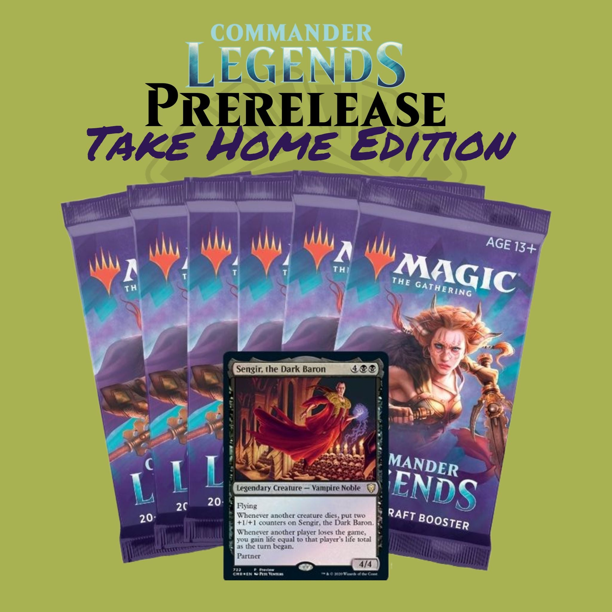 Commander Legends Take Home Prerelease kit | D20 Games