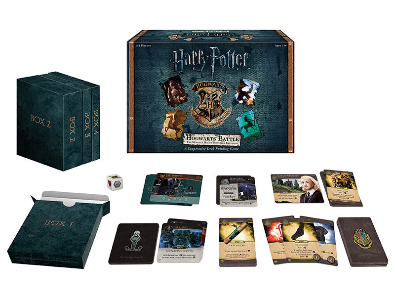 Harry Potter Hogwarts Battle:  The Monster Box of Monsters Expansion | D20 Games