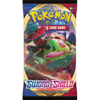 Sword and shield  Pokemon Boosterpack | D20 Games
