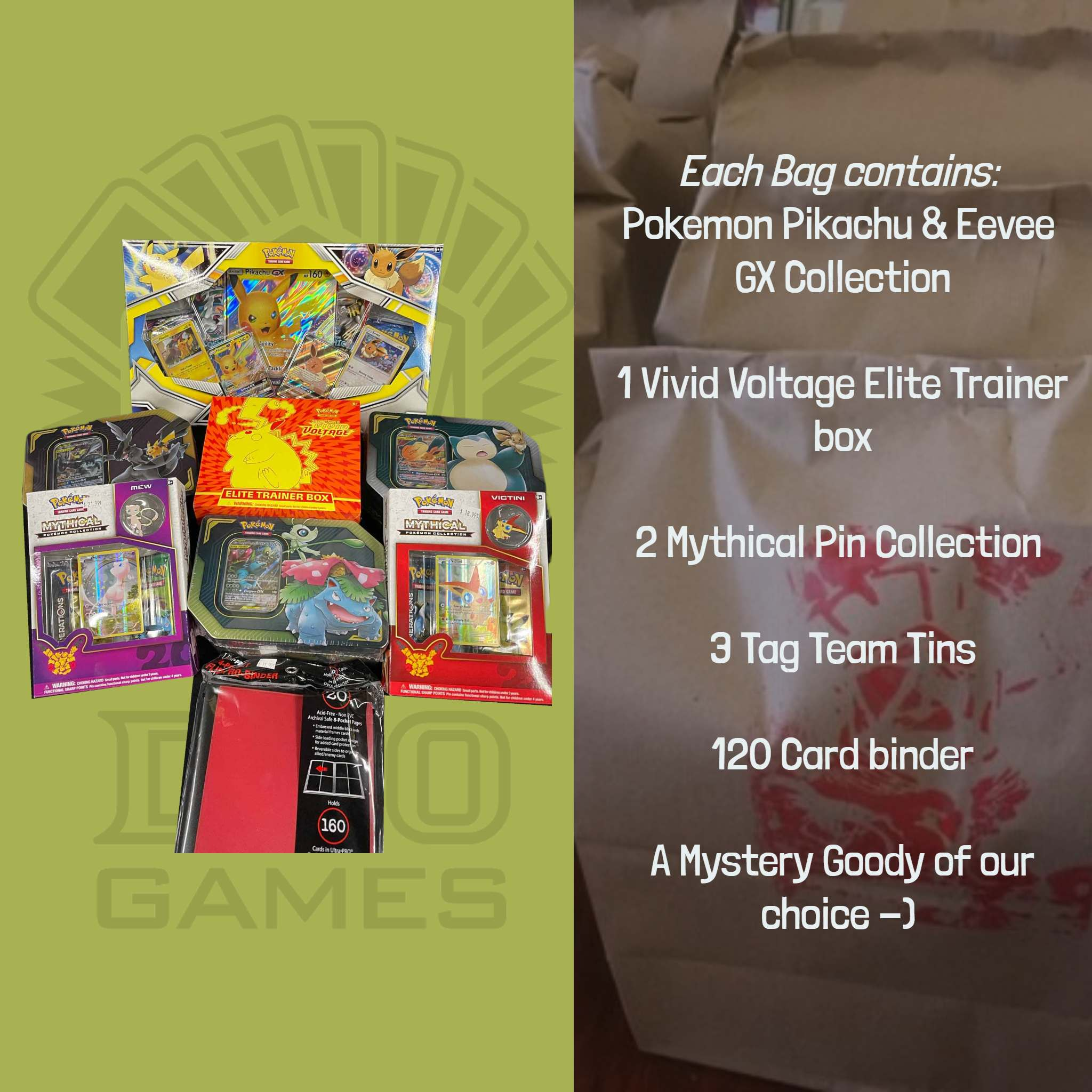 Pokemon Platinum Collectors Loot Bag | D20 Games