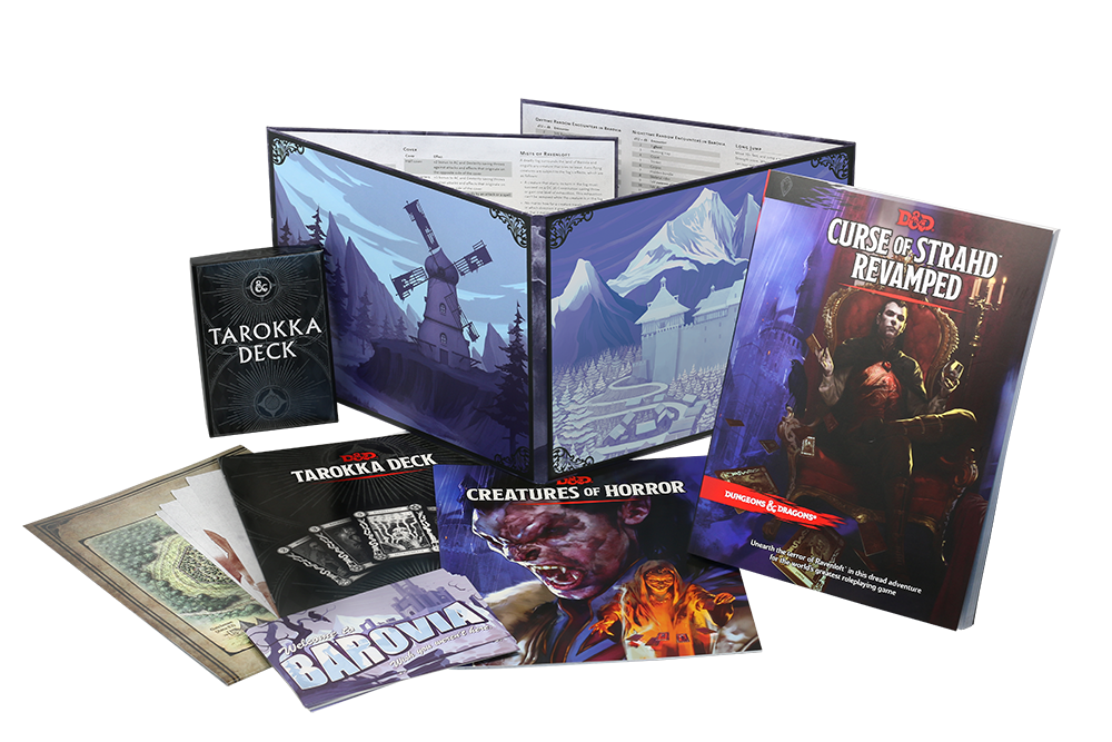 Dungeons and Dragons RPG: Curse of Strahd Revamped | D20 Games