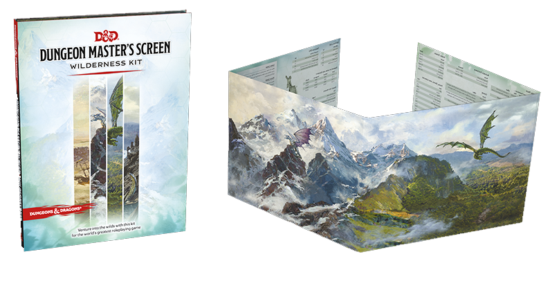 Dungeon Master's Screen Wilderness Kit | D20 Games