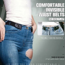 Load image into Gallery viewer, Buckle-free Invisible Elastic Waist Belts - ZZSales