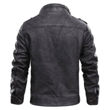Load image into Gallery viewer, Vintage Stylists Rodeo Leather Jacket - ZZSales