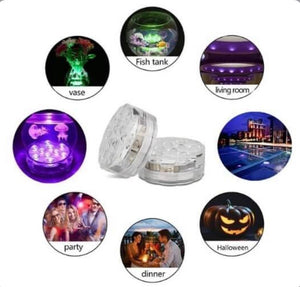 SUBMERSIBLE LED POOL LIGHTS REMOTE CONTROL (RF) - zzsales