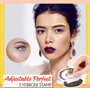 Adjustable Perfect Eyebrow Stamp - ZZSales