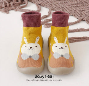 Autumn And Winter Cartoon Socks Shoes - ZZSales