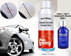 AutoDoc Liquid Scratch Repair Wax + 9H Headlight Cleaning Polish (Gift)