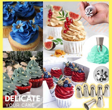 Load image into Gallery viewer, Cake Decor Piping Nozzle Set - zzsales