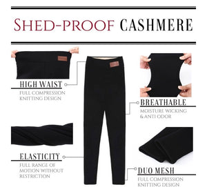 Winter Extra Warm Thick Cashmere Tight Pants - ZZSales