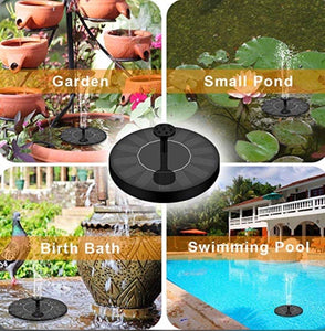 Solar Powered Bionic Fountain - zzsales