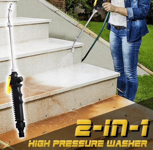 2-in-1 High Pressure Washer - zzsales