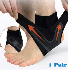 ADJUSTABLE ELASTIC ANKLE BRACE - zzsales