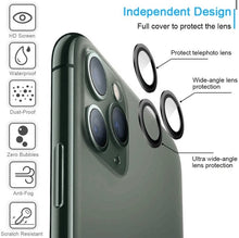Load image into Gallery viewer, Freely Color Matching HD iPhone Camera Lens Protector - ZZSales