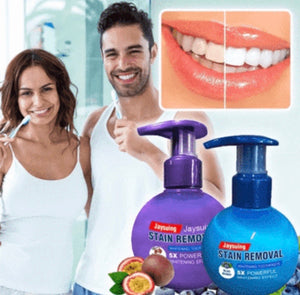 INTENSIVE STAIN REMOVAL WHITENING TOOTHPASTE + FREE TOOTHBRUSH - ZZSales