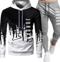 Load image into Gallery viewer, Men's 3D printed sportswear 2-piece sweatshirt suit - ZZSales