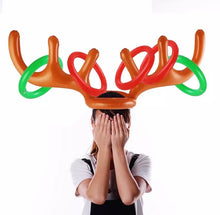 Load image into Gallery viewer, Reindeer Hat Horseshoe Games - ZZSales