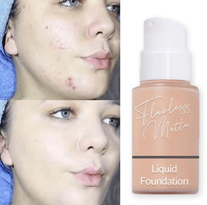 Flawless Matte Liquid Foundation - ZZSales