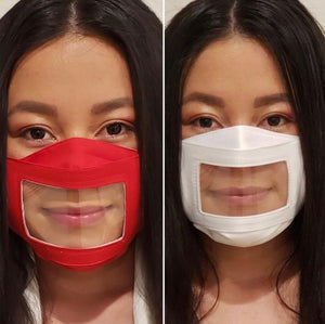 Clear Adults/Kids Safety Mask - zzsales