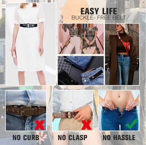 Buckle-free Invisible Elastic Waist Belts - ZZSales
