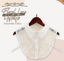 Load image into Gallery viewer, Stylish Blouse Detachable Lace Collar - ZZSales
