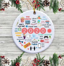 Load image into Gallery viewer, 2020 Annual Events Christmas Ornament - ZZSales