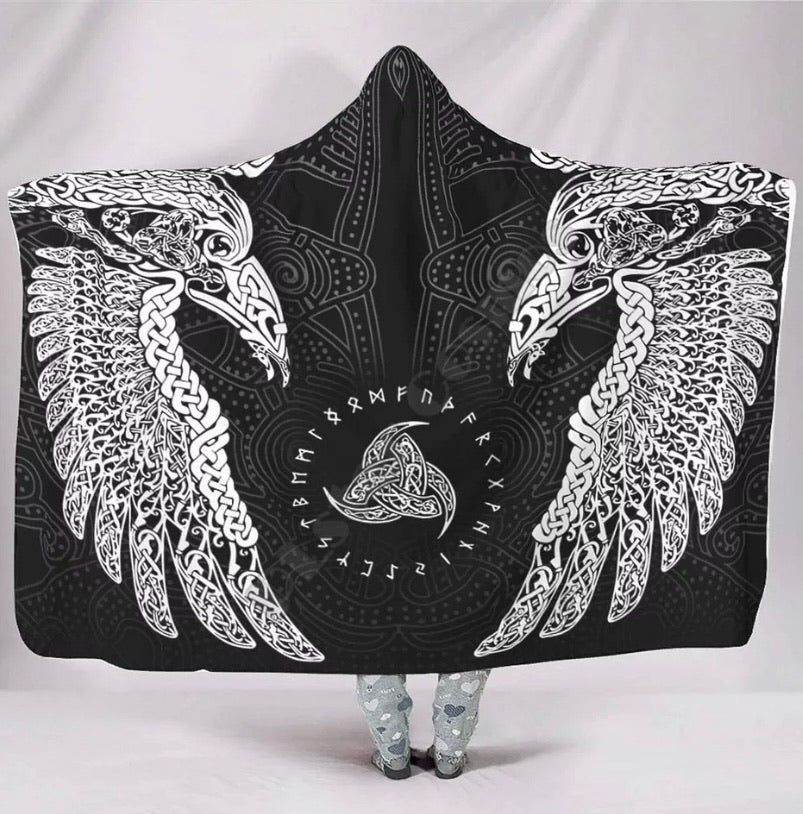 VIKING HOODED BLANKET - ZZSales