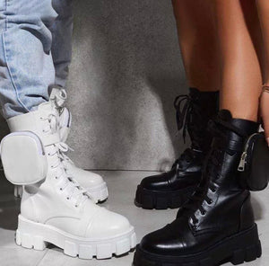 JADED STRAPPED BOOTS - ZZSales