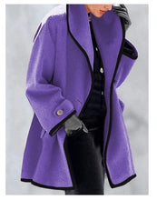 Load image into Gallery viewer, Women's Fashion Round Neck Coat - ZZSales