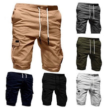 Load image into Gallery viewer, Men's Fashion Big Pocket Loose Shorts - zzsales