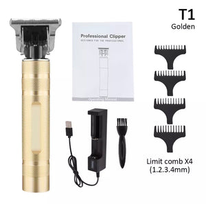 Men Cordless Beard Razor Trimmer - zzsales
