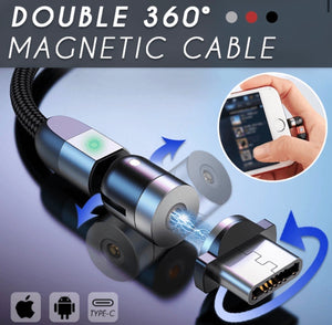 Double 360° Magnetic Cable - zzsales