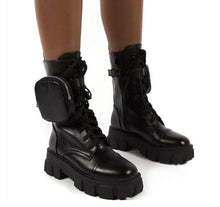 Load image into Gallery viewer, JADED STRAPPED BOOTS - ZZSales