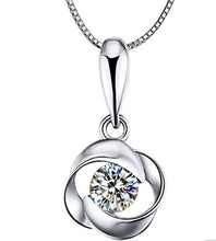 Load image into Gallery viewer, Topaz Pendant Necklace Set Sterling Silver 2.75 Carats - ZZSales