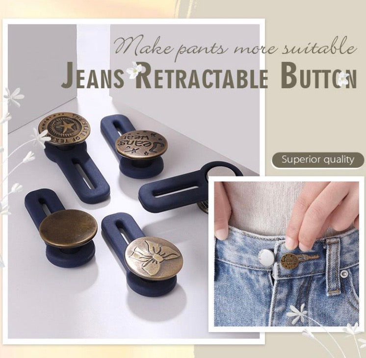 Jeans Retractable Button (3PCS) - zzsales
