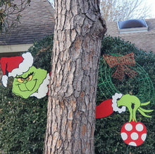 Load image into Gallery viewer, Christmas Yard Art Fence Peeker - ZZSales