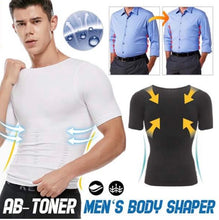 Load image into Gallery viewer, MEN'S SHAPER SLIMMING COMPRESSION T-SHIRT