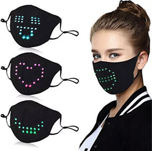 LED Voice Recognition Face Cover - ZZSales