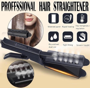Ceramic Tourmaline Ionic Flat Iron Hair Straightener - ZZSales