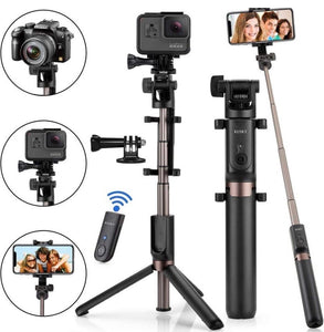 3 In 1 Wireless Bluetooth Selfie Stick - zzsales