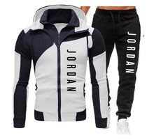 Load image into Gallery viewer, Men Hooded Sweatshirt & Pants (Sport Suit) - ZZSales