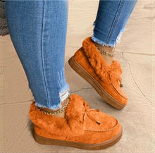 Load image into Gallery viewer, Winter Comfy Suede Casual Fashion Flat Snow Boots - ZZSales
