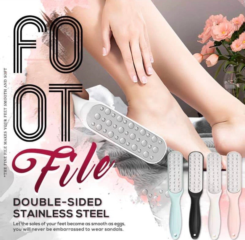 Double-sided Stainless Steel Foot File - zzsales