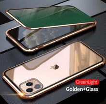 Load image into Gallery viewer, Upgraded Two Side Tempered Glass Magnetic Adsorption Phone Case for iPhone - ZZSales