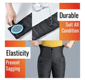 HEATMAX™ HIGH WAIST LIGHT DOWN PANTS - ZZSales