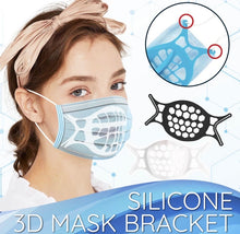 Load image into Gallery viewer, Silicone 3D Mask Bracket (4PCS) - ZZSales