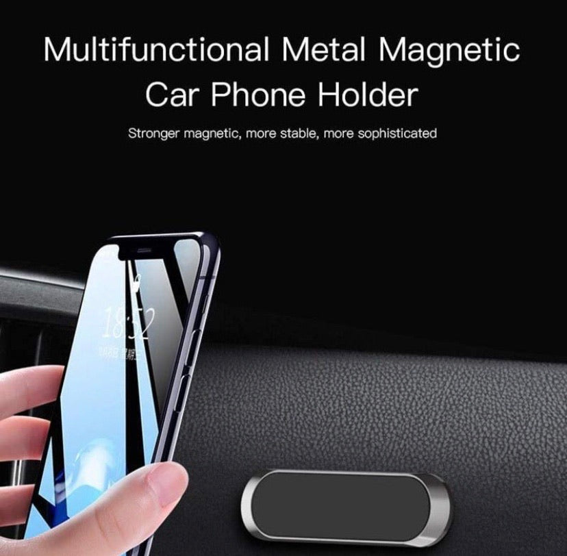 Mini Magnetic Car Mount Phone Holder - ZZSales