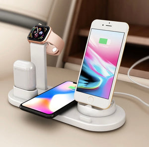 SuperCharge™ 4 in 1 Wireless Charging Station - ZZSales