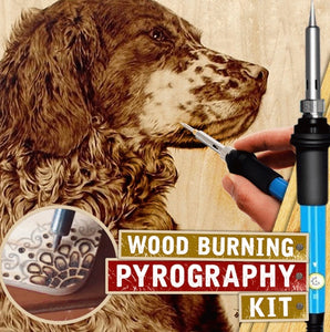 Wood Burning Pyrography Kit - ZZSales
