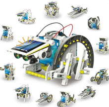 Load image into Gallery viewer, 12-in-1 Education Solar Robot Toys - zzsales